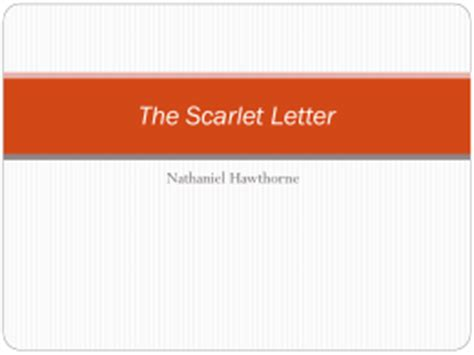 Essay on the scarlet letter symbolism